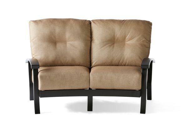 Georgetown Cushion Crescent Love Seat