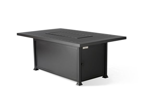 Paso Robles Rectangular Chat Height Fire Table