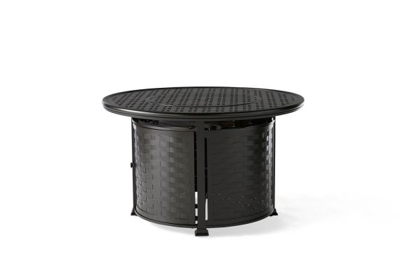 Cambria Round Chat Height Fire Table