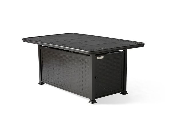 Cambria Rectangular Chat Height Fire Table
