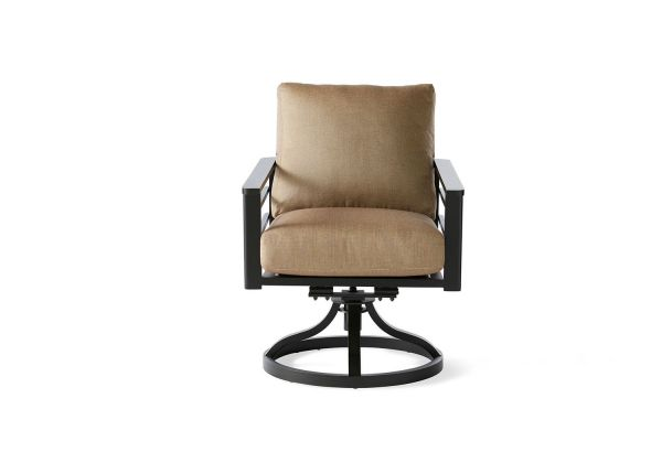 Sarasota Cushion Swivel Rocking Dining Armchair