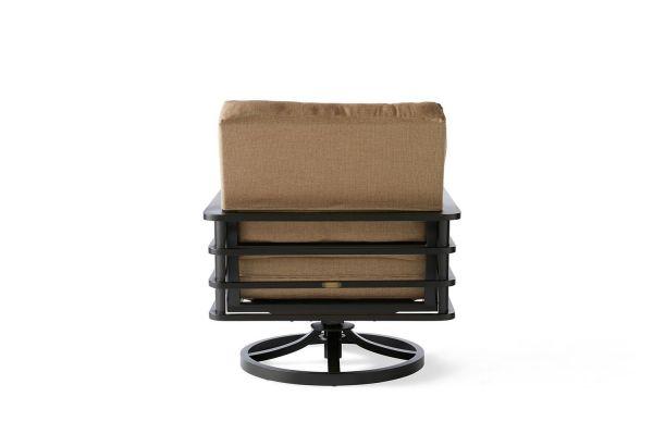Sarasota Cushion Spring Swivel Lounge Chair