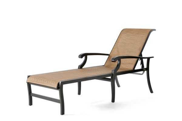 Turin Sling Chaise Lounge