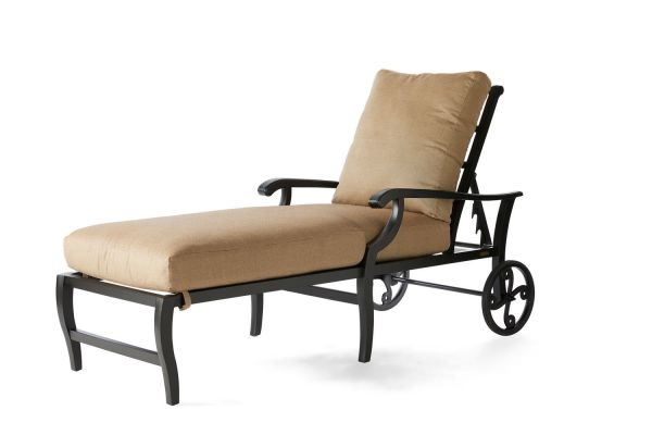 Turin Cushion Chaise Lounge