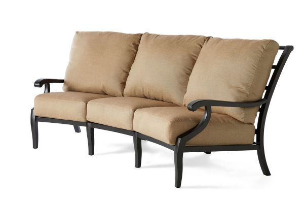 Turin Cushion Crescent Sofa