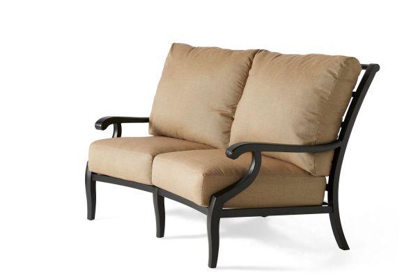 Turin Cushion Crescent Love Seat