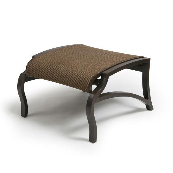 Turin Padded Sling Swivel Rocking Dining Armchair
