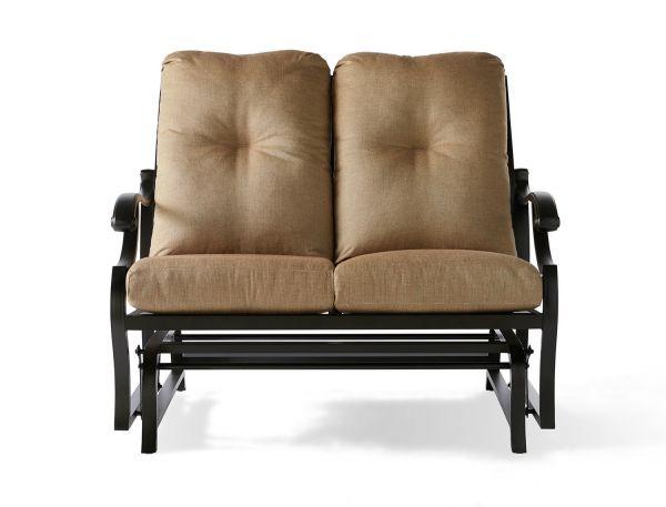 Volare Cushion Love Seat Glider