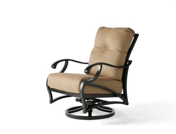 Volare Cushion Spring Swivel Lounge Chair