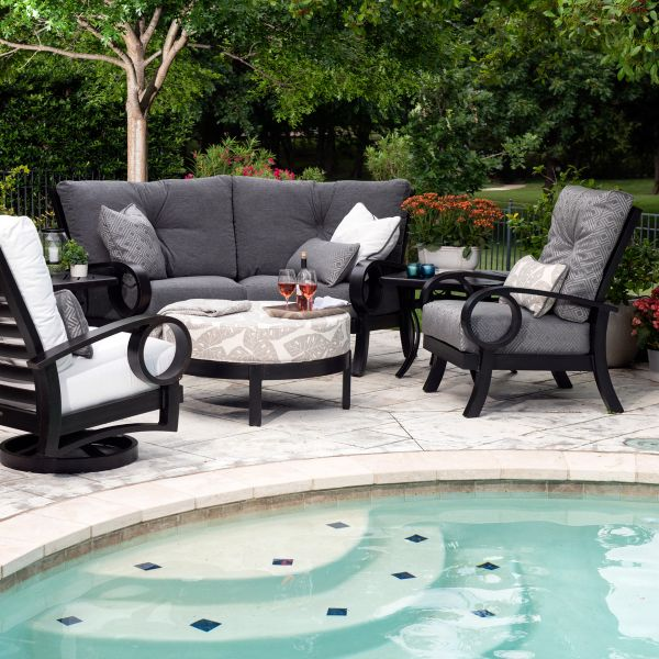 Eclipse Spring Swivel Lounge Chair