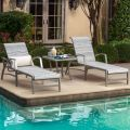 Heritage Sling Chaise Lounge