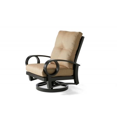 Eclipse Swivel Rocking Dining Armchair