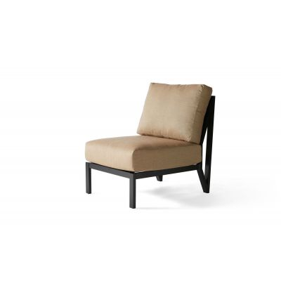 Madeira Cushion Armless Lounge Chair