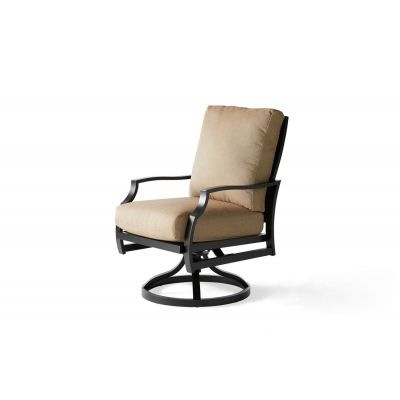 Palisades Swivel Rocking Dining Armchair
