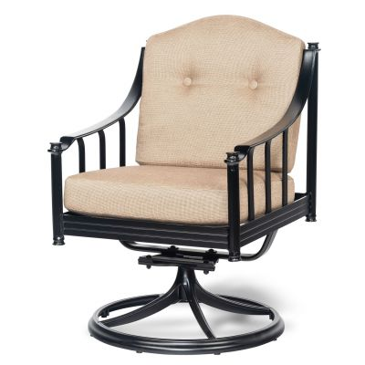 Province Swivel Rocking Dining Armchair