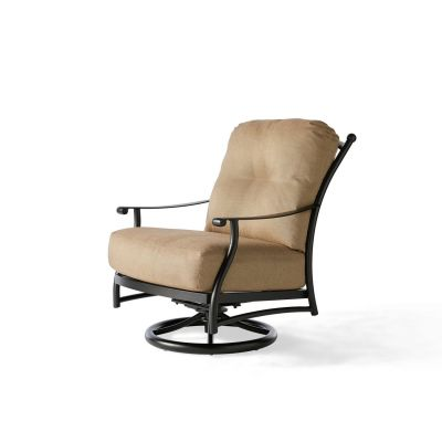 Seville Cushion Swivel Rocking Lounge Chair