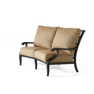 Turin Cushion Crescent Love Seat