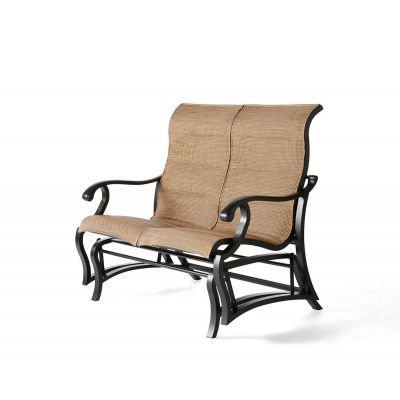 Volare Padded Sling Love Seat Glider
