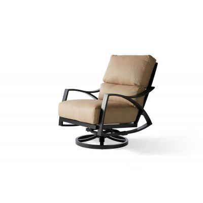 Heritage Cushion Spring Swivel Lounge Chair