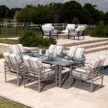 Sarasota Cushion Swivel Rocking Dining Armchair