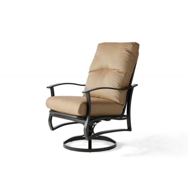 Albany Swivel Rocking Dining Armchair