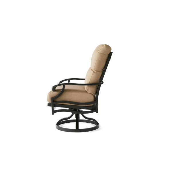 Anthem Swivel Rocking Dining Armchair