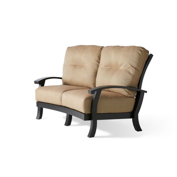 Georgetown Cushion Crescent Love Seat