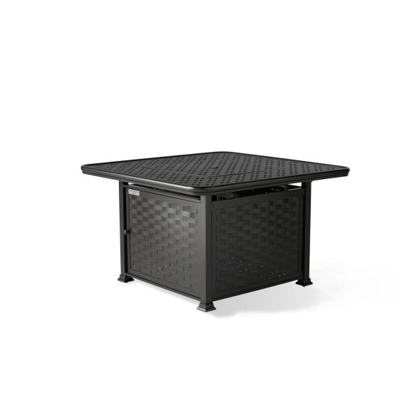 Cambria Square Chat Height Fire Table