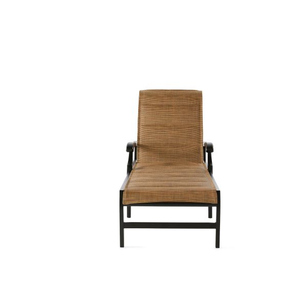 Turin Padded Sling Adjustable Chaise Lounge