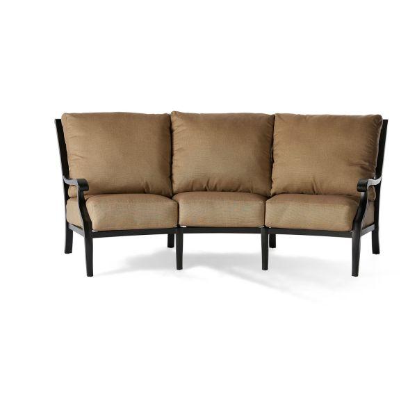 Turin Cushion Crescent Sofa