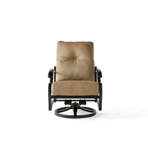 Volare Cushion Spring Swivel Lounge Chair