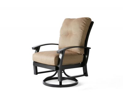 Georgetown Cushion Swivel Rocking Dining Armchair