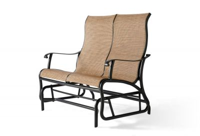 Scarsdale Sling Love Seat Glider