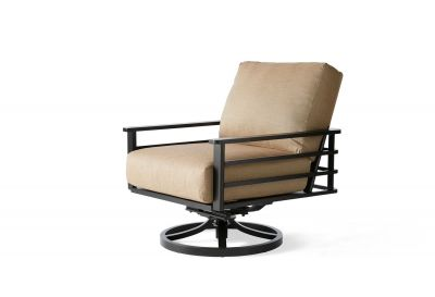 Sarasota Cushion Spring Swivel Lounge Chair