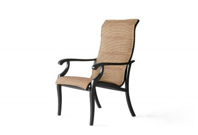 Turin Padded Sling Dining Armchair