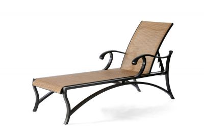 Volare Sling Adjustable Chaise Lounge