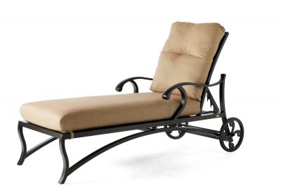Volare Cushion Adjustable Chaise Lounge