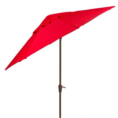 Auto Tilt Market Umbrella with Champagne Pole - Bar Height
